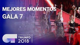 Mejores momentos de la Gala 7 | OT 2018
