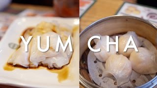 10 DIM SUM Dishes You Must Order at YUM CHA! - Video Youtube