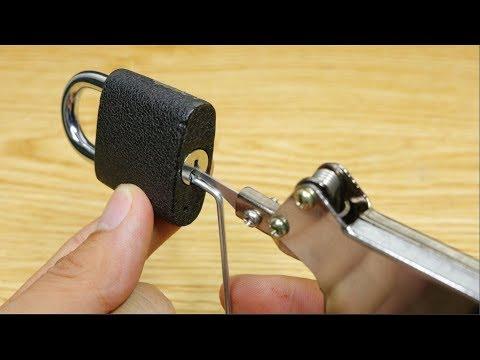3 Cách mở khóa, hack khóa không cần chìa