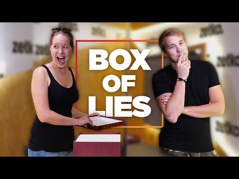 Proč ta ségra tolik lže?! - BOX OF LIES