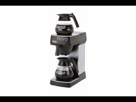 Commercial Filter Coffee Machine Usage Guide - Bravilor Novo