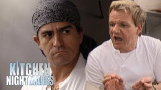 Chef Crumbles Under Pressure On Re-Opening Night | Kitchen Nightmares