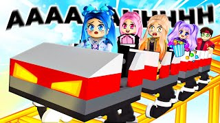 We visit ALL the THEME PARKS in Roblox!