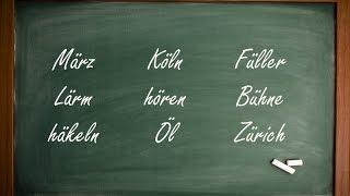 How to Pronounce the Umlaut (ä, ö, ü) in German!
