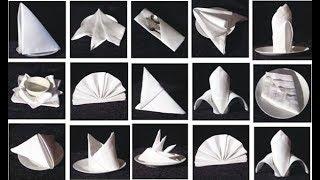 30 Napkin Folding