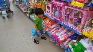 Trò chơi Bé đi siêu thị mua đồ chơi | Kids Toy Media