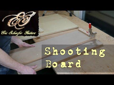 Making a Shooting Board - Eric Schaefer Guitars - Online Guitar Building School