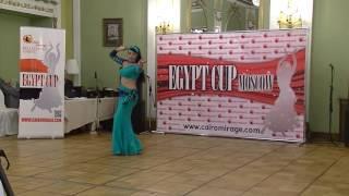 Тарасова Елена.  Egypt Cup, Балади, CD, дебют, 1 место