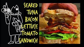 Tuna BLT! Made With Tasty Seared Tuna!
