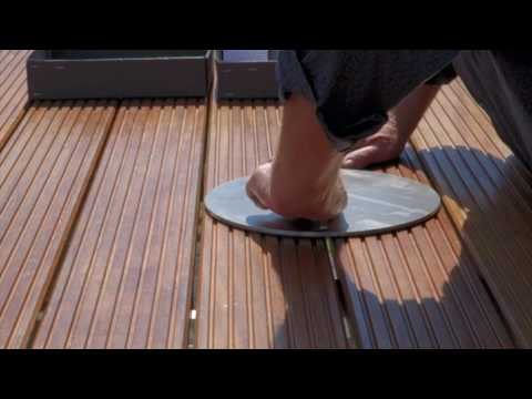 sonnenanker Sonnenschirmständer für Ampelschirme für Holzterrassen