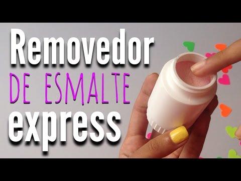 Removedor de Esmalte Express CASERO - ¡Funciona!