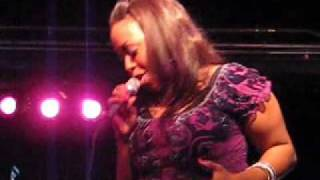 "Chrisette Michele Live Performance, ""Like A Dream,"" 11.18.07"