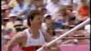Daley Thompson and Jurgen Hingsen go for gold in the decathlon Los Angeles