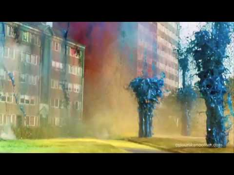 Sony Bravia Paint Advert HD