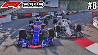 LASTIGE INHAALACTIES IN MONACO - F1 2018 Career Mode #6