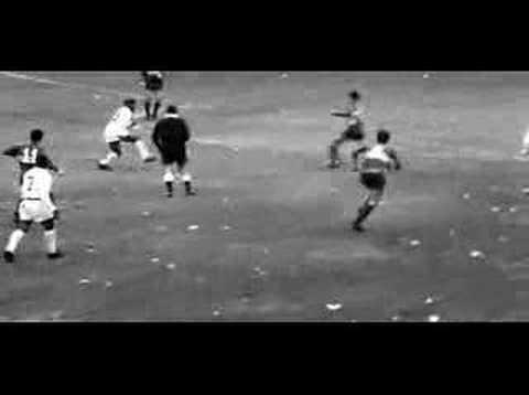 Los goles de la finalísima de 1963 en notable caldiad (Boca Juniors 1 x 2 Santos - Buenos Aires - 11.09.1963)