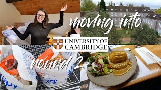 CAMBRIDGE UNIVERSITY MOVE IN VLOG 2019 👩🏻🎓