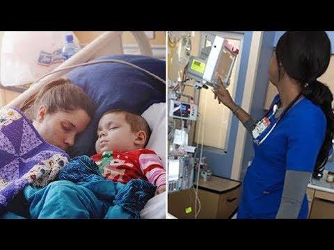 Медсестра думала, что ее никто не видит, но мама ребенка сделала фото, чтобы все узнали правду