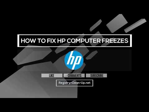 How To Fix HP Computer Freezes
