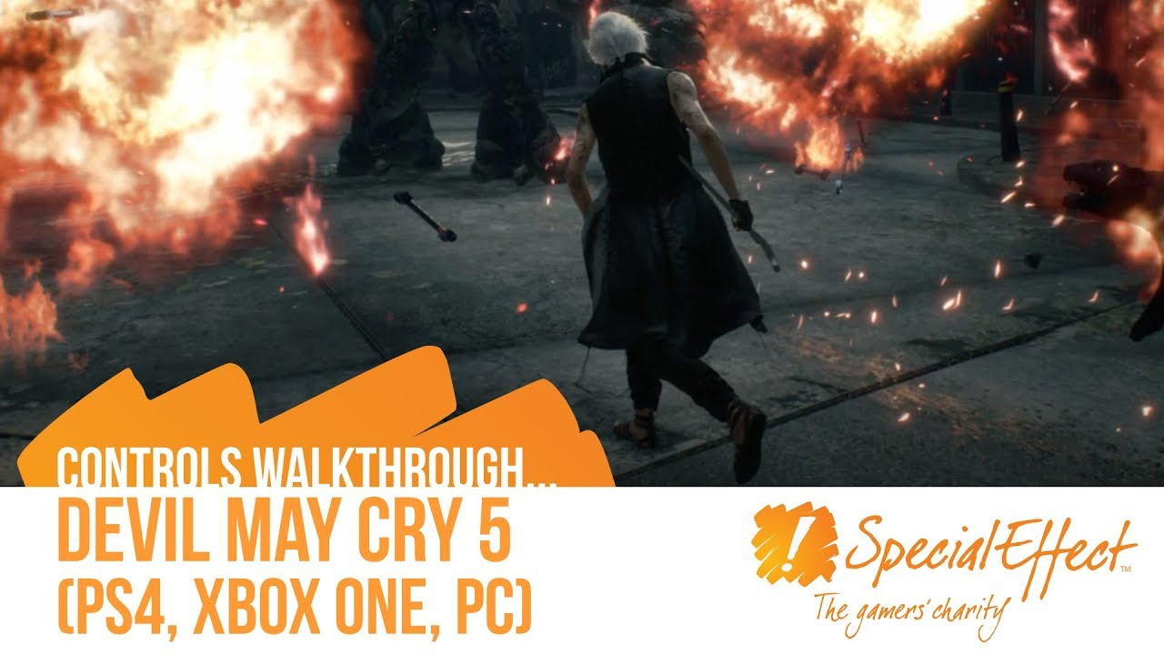 video placeholder for Devil May Cry 5 | Controls Walkthrough