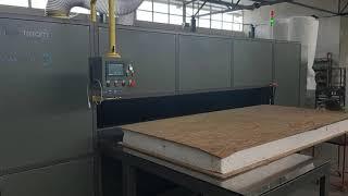 SANDWICH PANEL REBATE GROOVING MACHINE