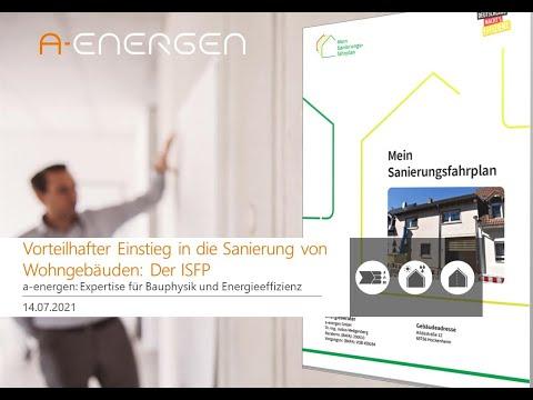 Vorteilhafter Einstieg in die Sanierung von Wohngebäuden: Der individuelle Sanierungsfahrplan (ISFP)