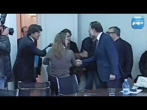Mariano Rajoy se reúne con Alex de la Iglesia