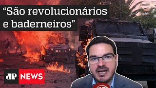 Constantino: Manifestações no Chile não tem nada a ver com luta por igualdade
