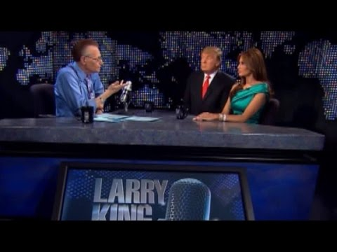 Larry King Live (2010): Trump favored racial profiling
