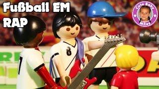 PLAYMOBIL FILM FUßBALL EM SPEZIAL Boateng Podolski Özil Rap Spielzeug Spielt Verrückt CuteBabyMiley