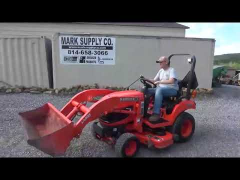 2011 Kubota BX1860 Sub Compact Tractor Loader Belly Mower 4X4 Diesel For Sale