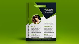 25233I will design professional flyer or advert