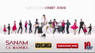 La Bamba Sanam Lyrics Video #Sanam Lyrics SL1 - YouTube