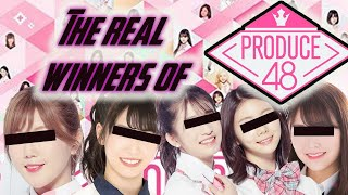 [Truth Revealed!] THE REAL WINNERS OF PRODUCE48