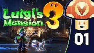 [Vinesauce] Vinny - Luigi's Mansion 3 (PART 1)