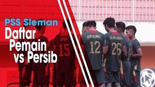 Sambangi Markas Persib Bandung, PSS Sleman Tak Dalam Kekuatan Penuh, Ini Daftar Pemainnya