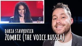 Daria Stavrovich sings