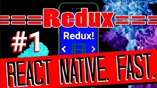 REDUX React Native - State Management Tutorial | #1 Reducer Setup