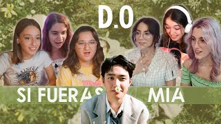 D.O. - Si Fueras Mía | Spanish college students REACTION (ENG SUB)