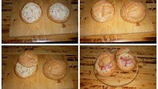 Закрытые горячие бутерброды в микроволновке