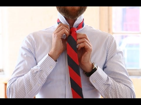 How To: Match Your Shirt and Tie