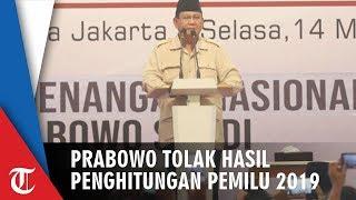Prabowo: Saya Akan Menolak Hasil Penghitungan Pemilu yang Curang