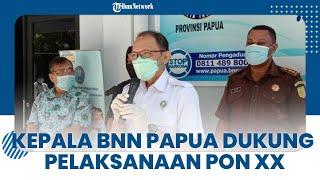 Dukung Pelaksanaan PON XX 2021, Kepala BNN Papua Ingatkan Para Atlet agar Tak Terlibat Narkoba