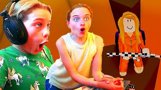 My SISTER COULDN'T BELIEVE OUR PYRAMID HEIST!  In Roblox Gaming w/ The Norris Nuts