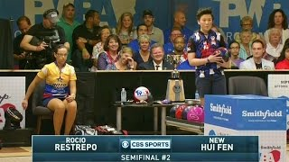 2016 Smithfield PWBA Tour Championship Semi Final Match 2