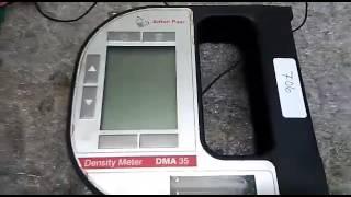 Repair ANTON PAAR Density Meter DMA35 | Ingress Malaysia