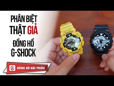 So sánh đồng hồ G-Shock Fake 175k tại Lazada và cái kết.. nực cười!