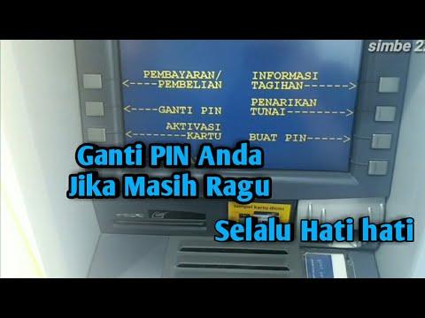 Cara Mengganti Pin Kartu kredit di Mesin ATM