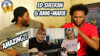 Anne-Marie & Ed Sheeran – 2002 [Official Acoustic Video] (REACTION)