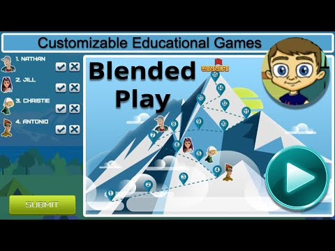Blended Play Tutorial - Customizable Educational Games